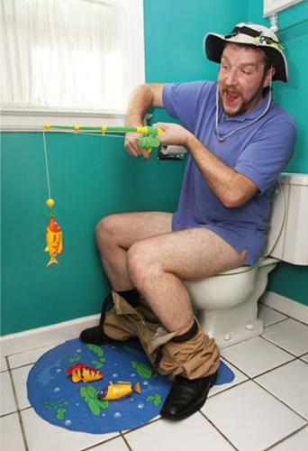 Hook Line & Stinker: Toilet Fishing