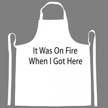 It Was On Fire When I Got Here Apron