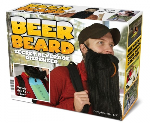 Beer Beard Prank Gift Box