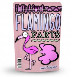 Flamingo Farts Cotton Candy