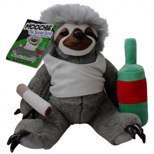 Moochie the Slacker Sloth Plush
