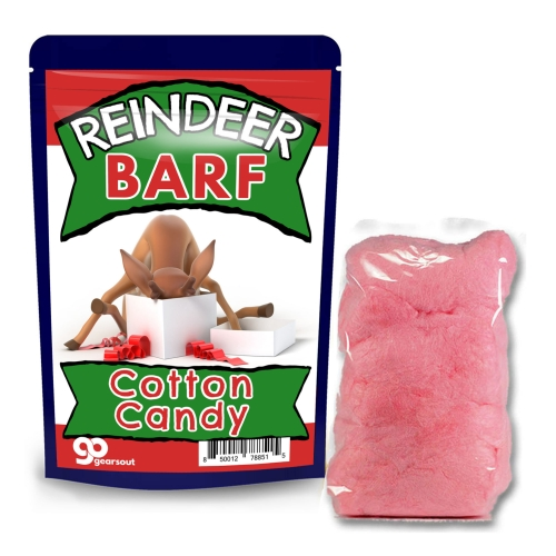 Reindeer Barf Cotton Candy