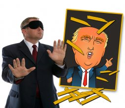 Pin the Toupee on Trump Party Game