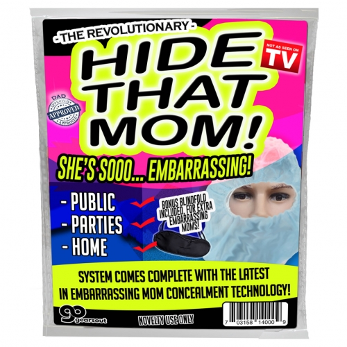 Hide That Mom Mask