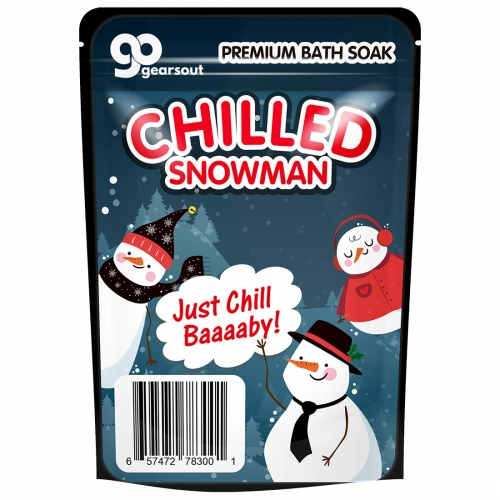 Chilled Snowman Bath Soak