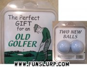 Old Golfers New Balls Gift Set
