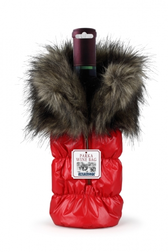 Wine Bottle Parka Tote