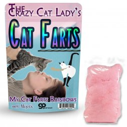 Crazy Cat Lady Cat Farts Cotton Candy