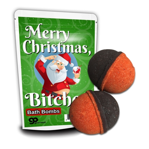 Merry Christmas, Bitches Bath Bombs