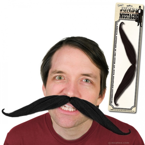 Giant Fake Mustache