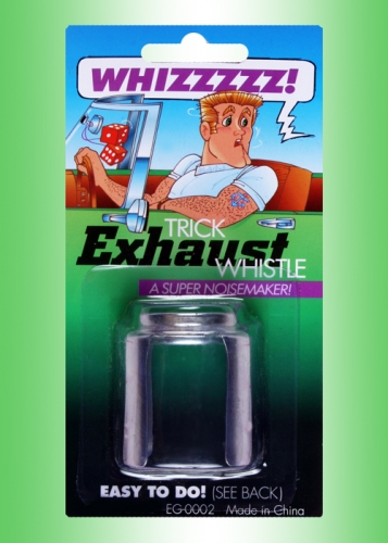 Car Exhaust Whistle