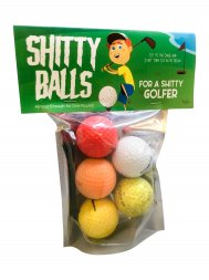 Shitty Balls for a Shitty Golfer