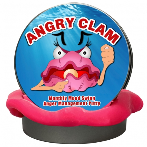 Angry Clam Monthly Stress Putty