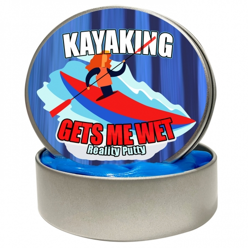 Kayaking Gets Me Wet Stress Putty