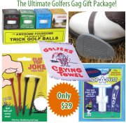 The Ultimate Golfers Gag Gift Package