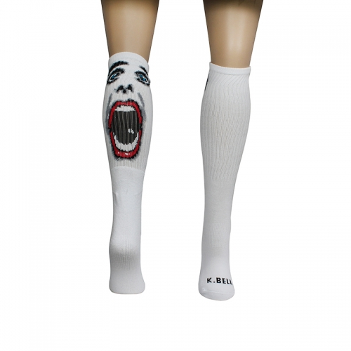 Screaming Face Socks