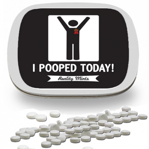 I Pooped Today Mints