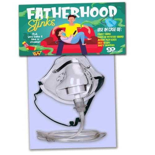 Fatherhood Stinks Odor Relief Mask