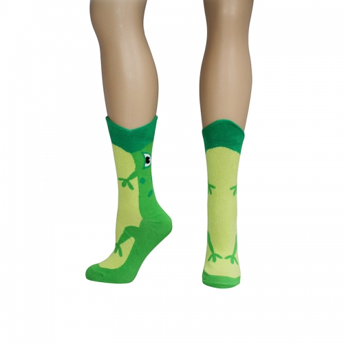 Wide Mouth Frog Socks