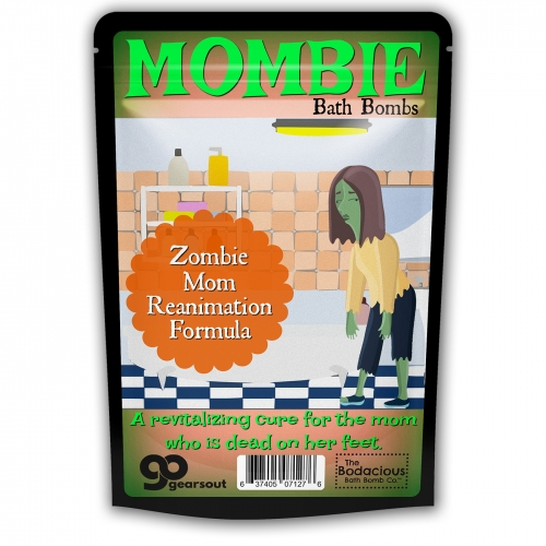 Mombie Bombs Zombie Mom Bath Bombs