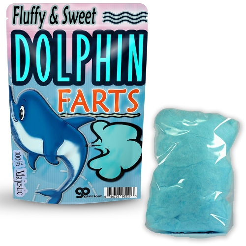 Dolphin Farts Cotton Candy