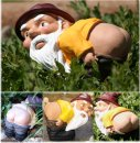 Mooning Lawn Gnome