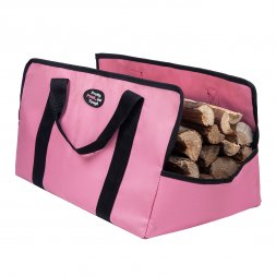 Pink Firewood Tote