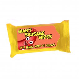 Giant Sausage Wipes