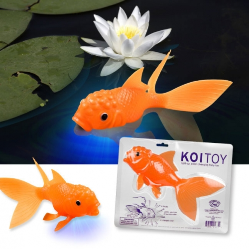 Koi Toy - Glowing Goldfish
