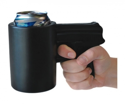 The Shooter Gun Koozie