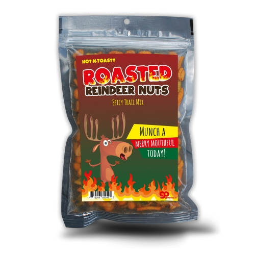 Roasted Reindeer Nuts Spicy Trail Mix