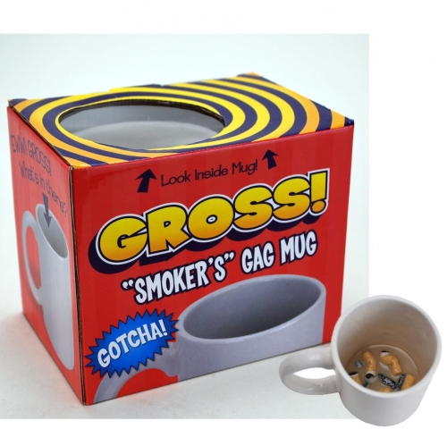 Gotcha Gross Smokers Coffee Mug