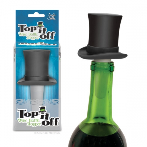 Top It Off Bottle Stopper