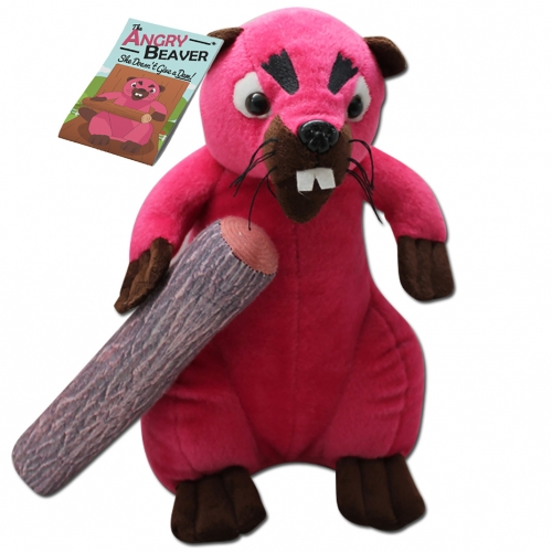 The Angry Beaver Plush