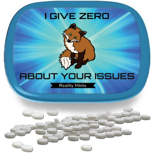 I Give Zero Fox About Your Issues Mints