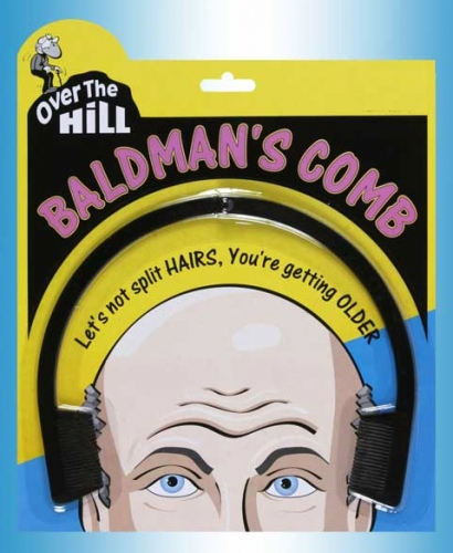 Over The Hill Bald Comb
