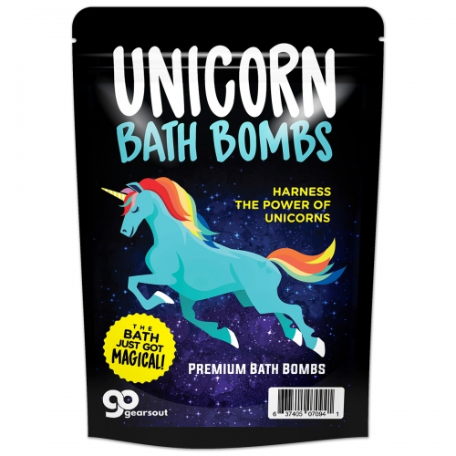 Unicorn Bath Bombs
