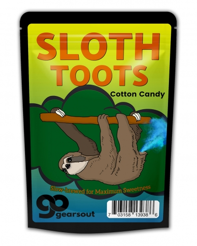 Sloth Toots Cotton Candy