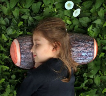 Log Pillow Head Rest