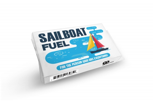 Sailboat Fuel Prank Gift Box