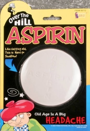 Over the Hill Aspirin