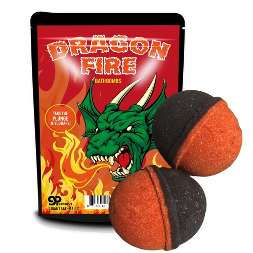 Dragon Fire Bath Bombs