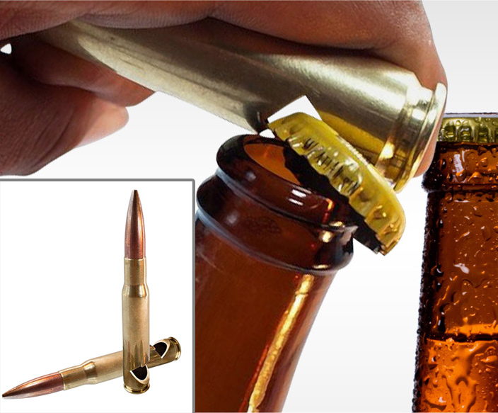 50 Caliber Bottle Opener