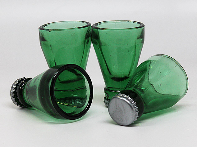 Bottle Top Shot Glasses
