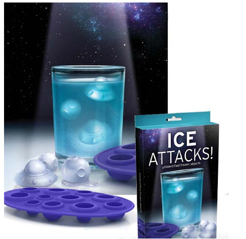 Ice Attacks Ice Cube Tray
