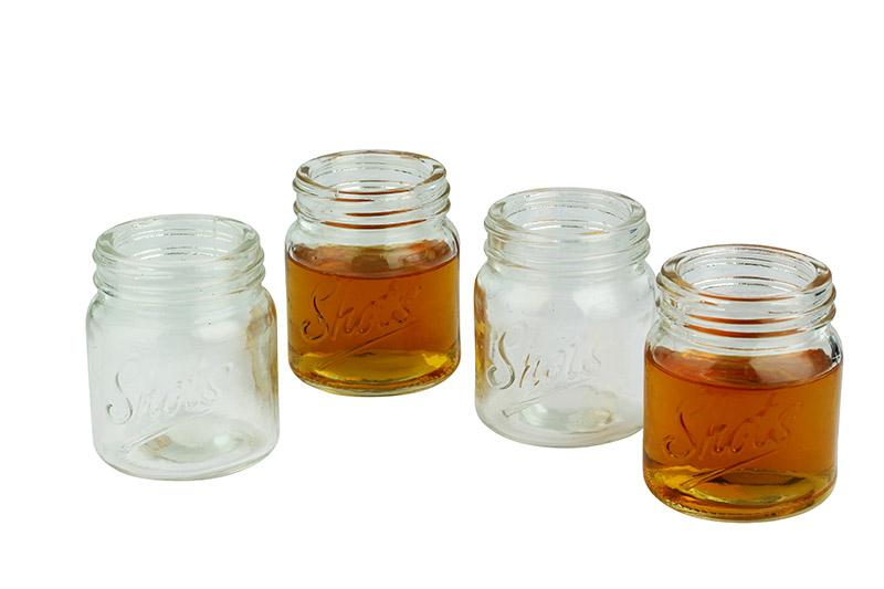Mason jar shot glasses - Mason jar goblets ...