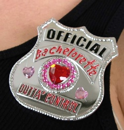 The Official Bachelorette Badge