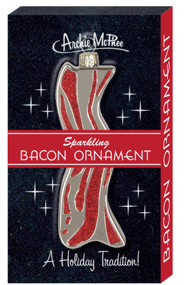 Bacon Ornament