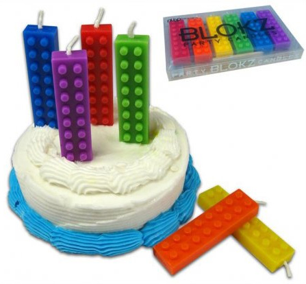 Blokz Birthday Candles 895 FunSlurpcom Unique Gifts and