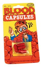 Blood Capsules Prank